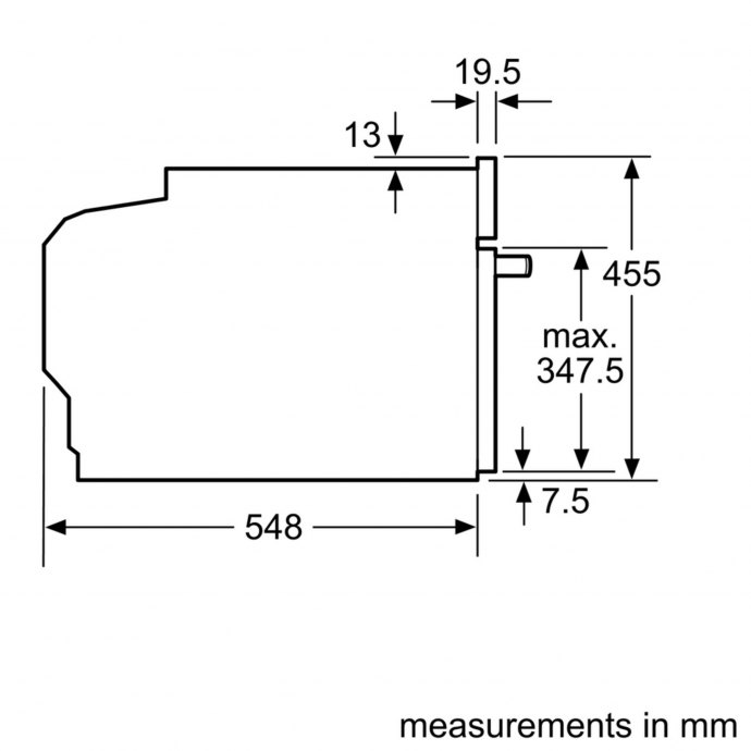 Siemens - CM636GBS1 Combi magnetron