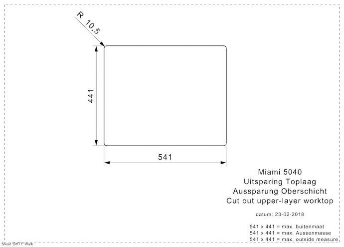 Reginox - R30721 Spoelbakken