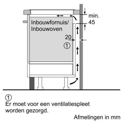 Siemens - ED775FSC5E Inductie kookplaat