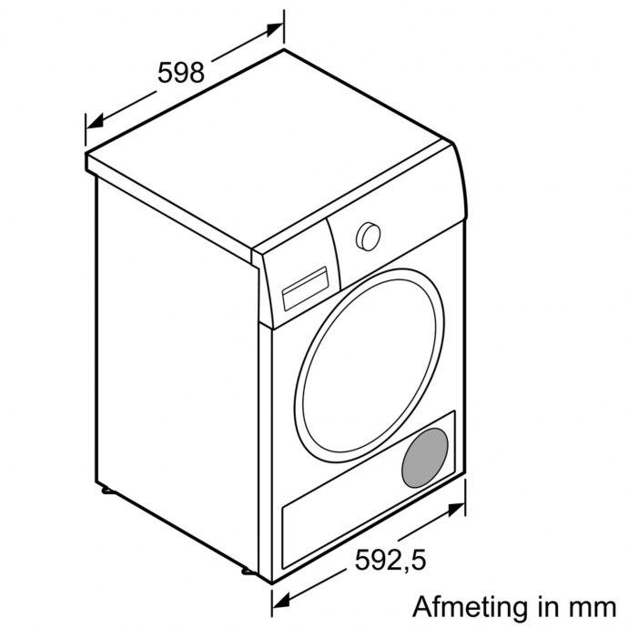 Bosch - WTN83202NL Droger