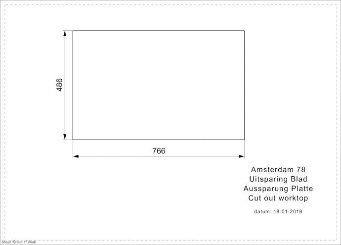 Reginox - R32763 Spoelbakken