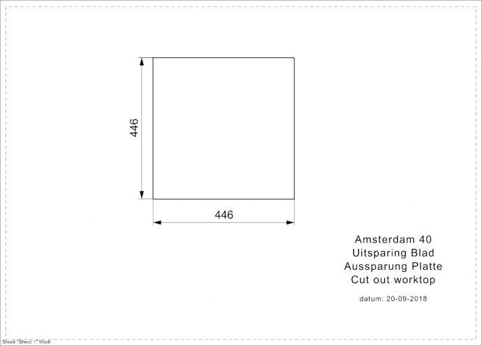 Reginox - R32305 Spoelbakken