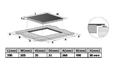 hananto - HIKI6001 Inductie kookplaat