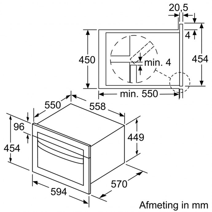Bosch - CMA485GS0 Combi magnetron