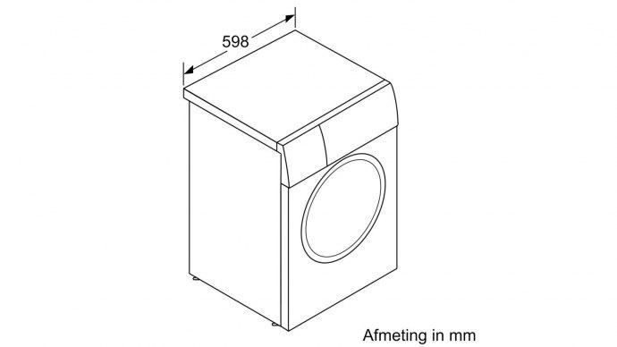 Bosch - WAU28P00NL Vrijstaande wasmachines