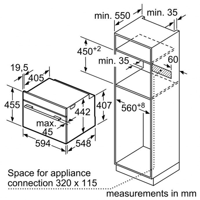 Siemens - CS656GBS1 Stoomoven