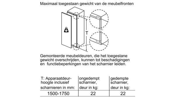Siemens - GI81NAC30 Inbouw vriezers