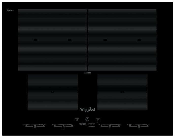 Whirlpool SMO604OFNE Inductie kookplaat