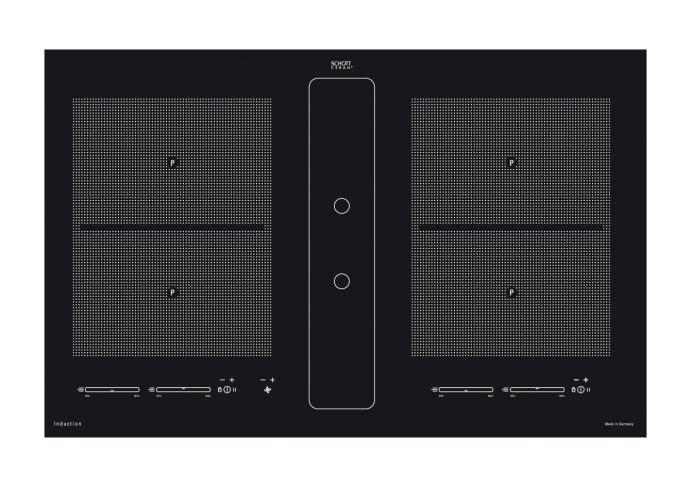 Airo IG900100 Kookplaat met afzuiging