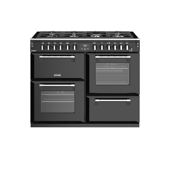 Stoves RMS1100DFDLXBLK Fornuis 110 cm