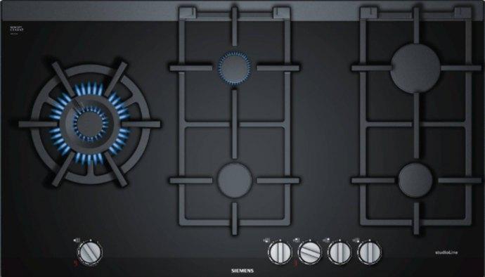 Siemens ER9A6SS71N Gas op glas kookplaat