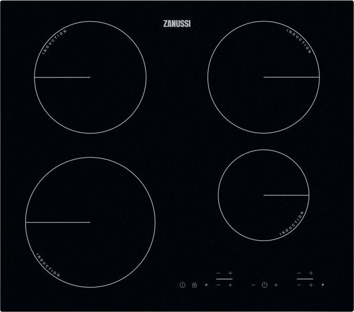 Zanussi - ZIB6460CB Inductie kookplaat