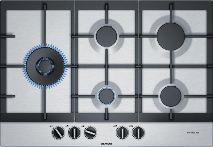 Siemens EC7A5SS90N Gaskookplaat