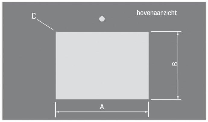 ABK - BIN80LVI Spoelbakken