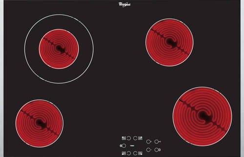 Whirlpool - AKT8330LX Keramische kookplaat