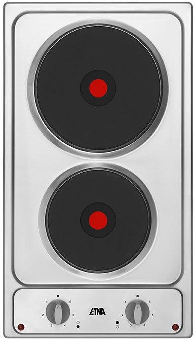 ETNA TEK130RVS Domino keramische kookplaat