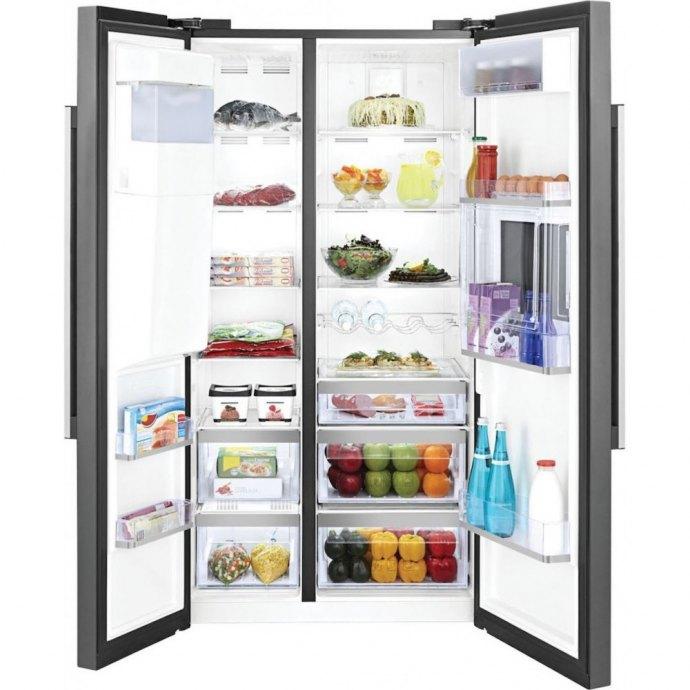 Beko - GN162430P Side By Side koelkast