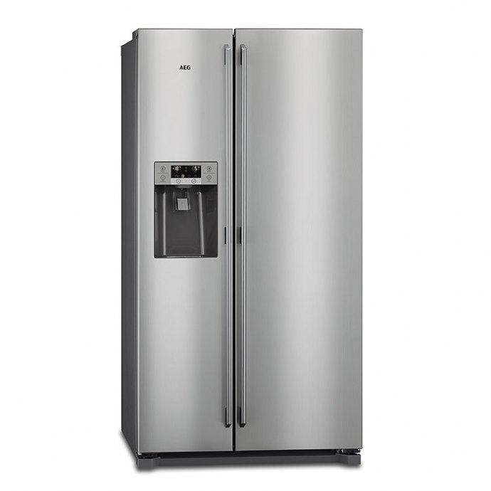 AEG RMB76121NX Side By Side koelkast