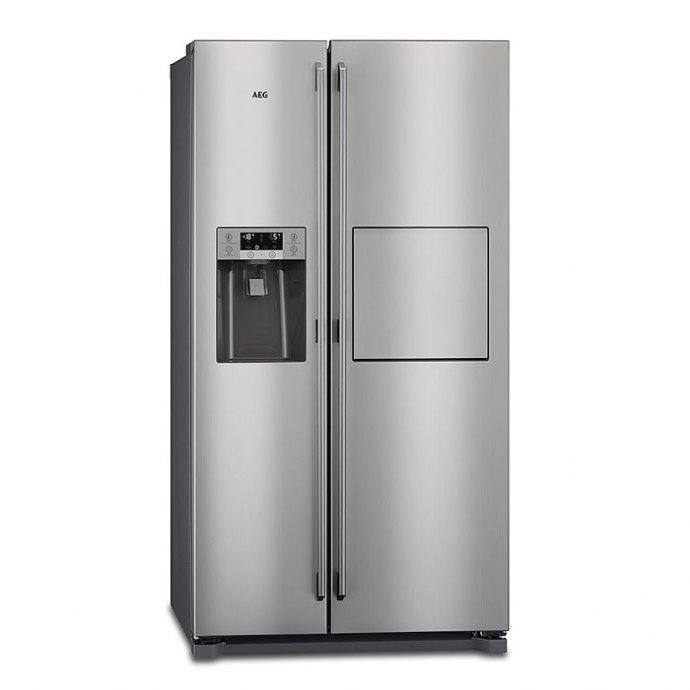 AEG RMB66111NX Side By Side koelkast