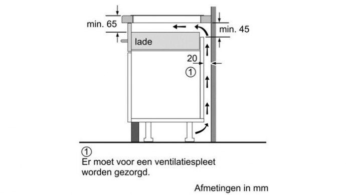 Siemens - EH775FE27E Inductie kookplaat