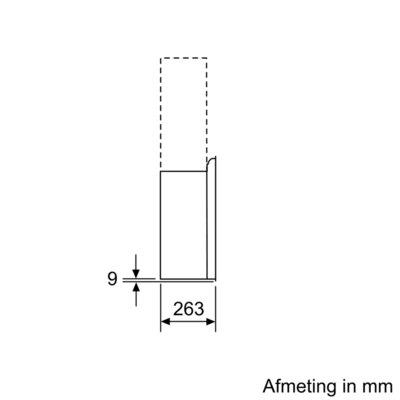 Bosch - DWF97KM60 Schuine afzuigkap