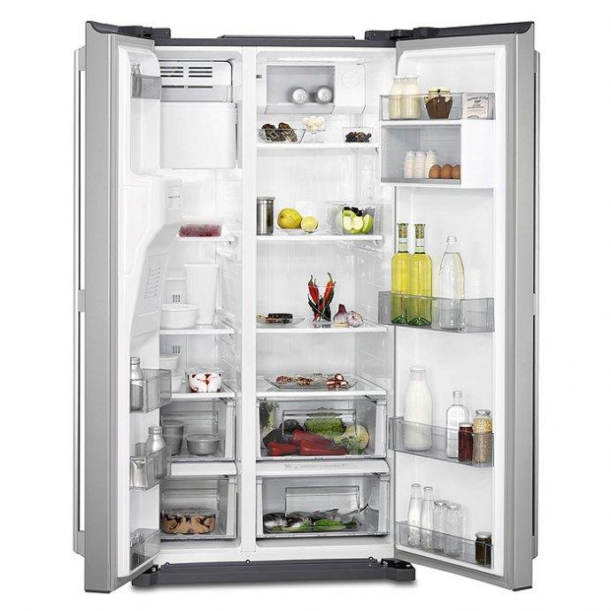 AEG - RMB56111NX Side By Side koelkast