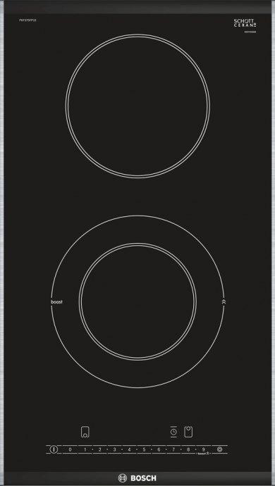 Bosch PKF375FP1E Domino keramische kookplaat