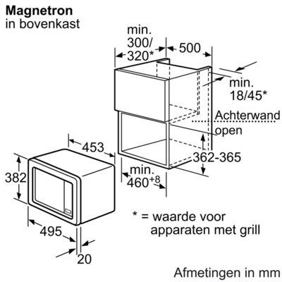 Bosch - HMT75M551 Solo magnetron