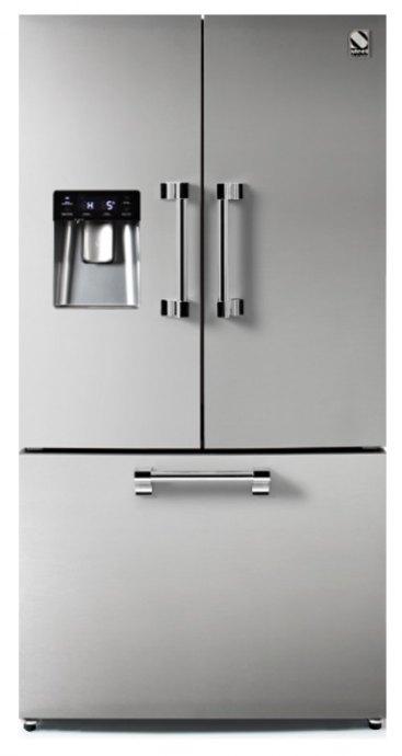 Steel AFR9FSS Side By Side koelkast