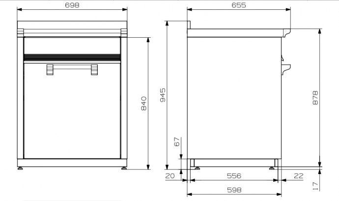 Steel - ALS7PBA Modules