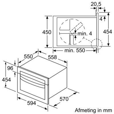 Bosch - CMA585MS0 Combi magnetron