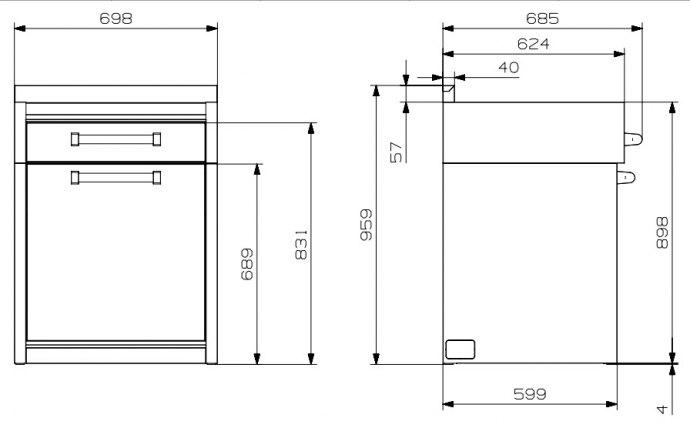 Steel - G7SPCR Modules