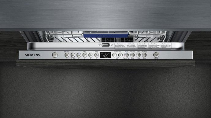 Siemens - SN636X01IN Volledig geintegreerde vaatwasser