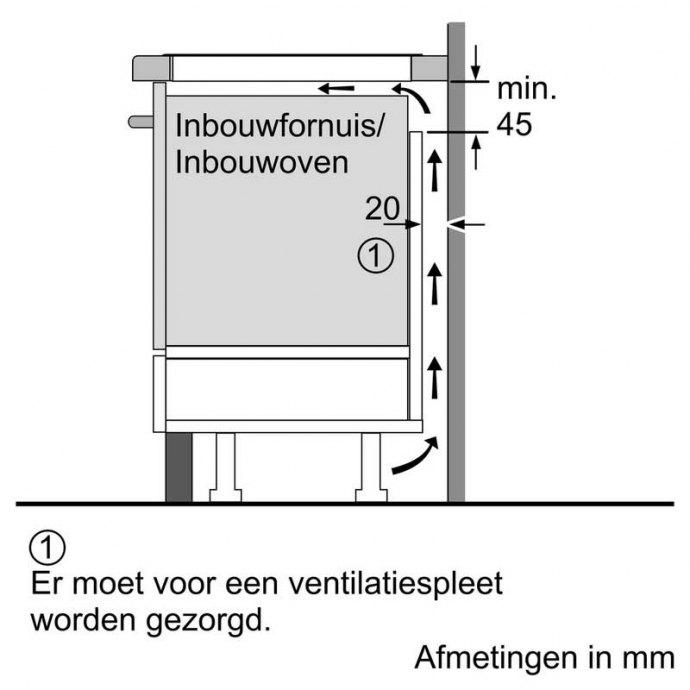 Bosch - PIE611BB1E Inductie kookplaat