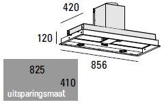 ABK - PSFR086 Inbouwunit afzuigkap