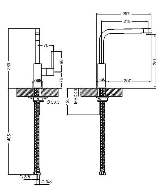 Smeg - MFQ6IS2 Kranen