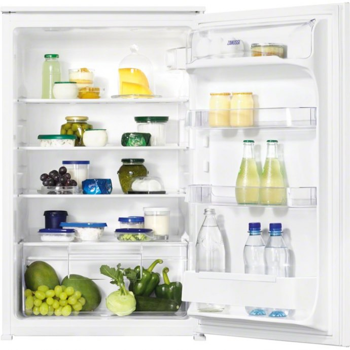 Zanussi ZBA15021SA Inbouw koelkasten t/m 88 cm