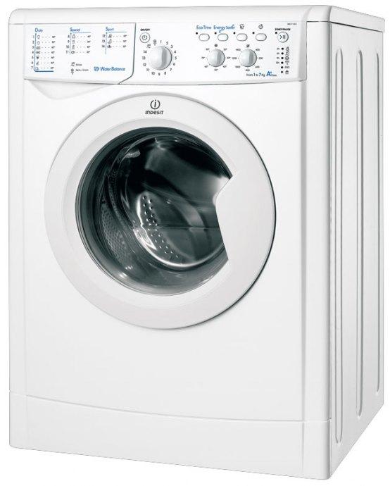 Indesit IWC71451ECOEU Vrijstaande wasmachines