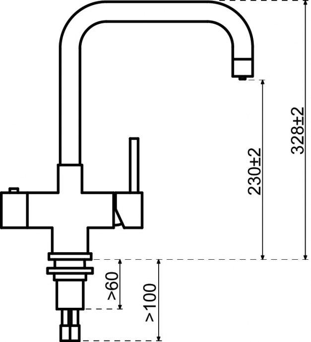 Selsiuz - 350229 Kokendwaterkranen