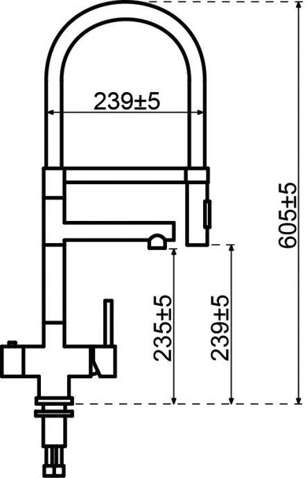Selsiuz - 350223 Kokendwaterkranen