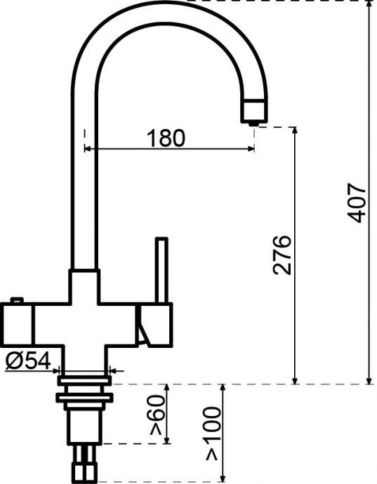 Selsiuz - 350213 Kokendwaterkranen