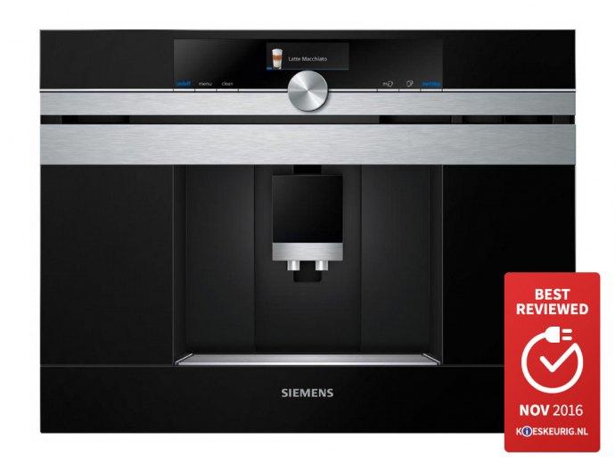 Siemens - CT636LES1 Inbouw koffieautomaat