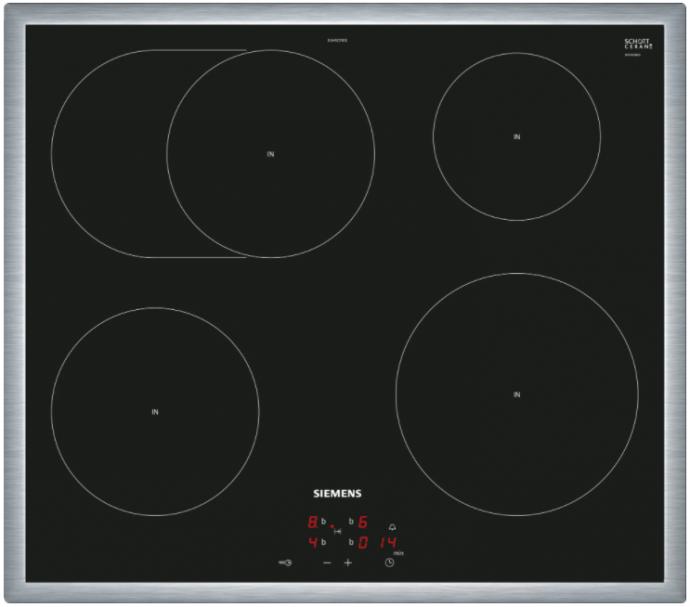 Siemens EI645CFB1E Inductie kookplaat t b v oven