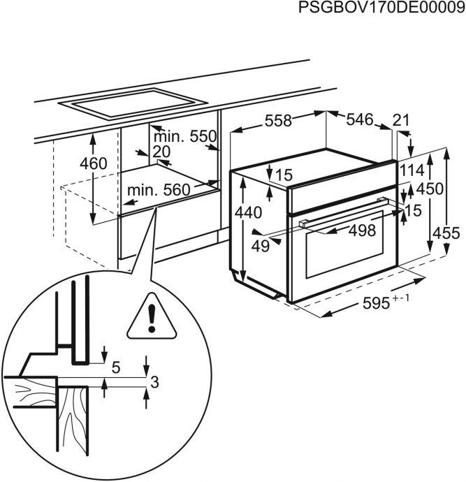 AEG - CMK56500MM Combi magnetron