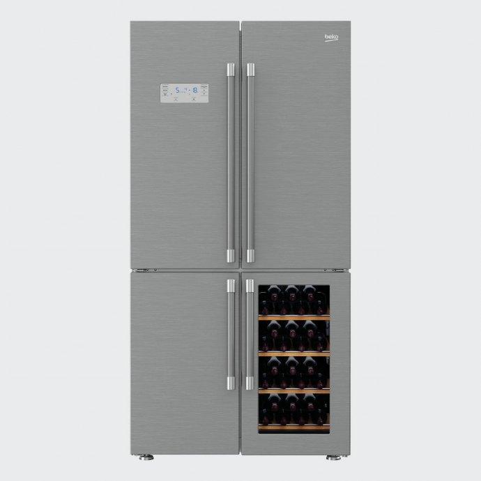 Beko GN1416220CX Side By Side koelkast