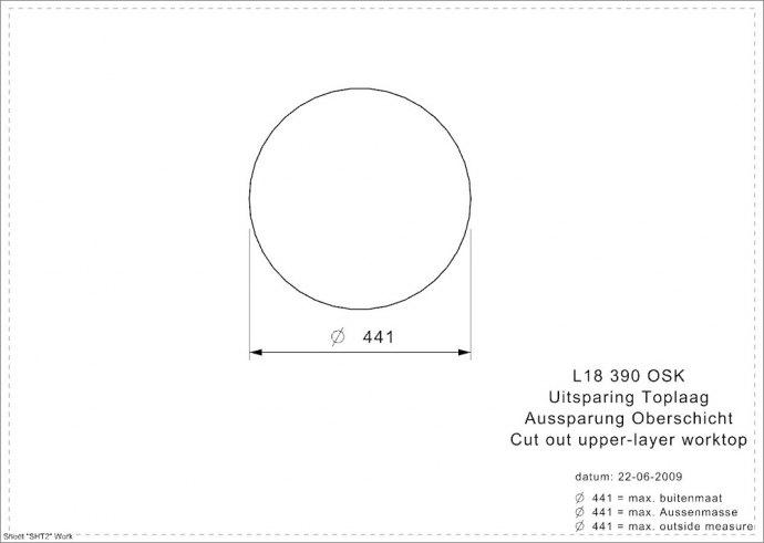 Reginox - R14387 Spoelbakken