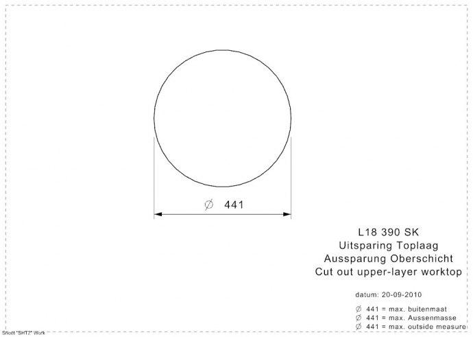 Reginox - R25635 Spoelbakken