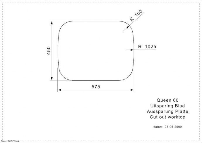 Reginox - R16633 Spoelbakken
