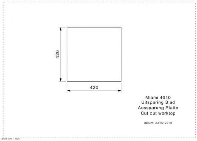 Reginox - R30707 Spoelbakken