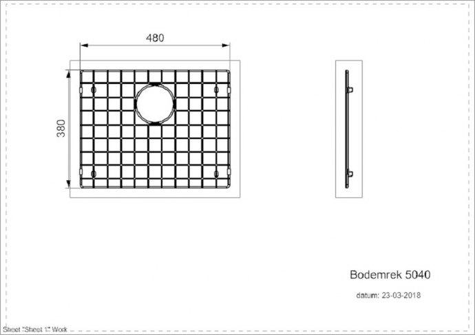 Reginox - R30684 Spoelbakken